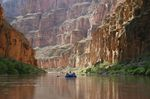 White water rafting on the Colorado River in the Grand Canyon - White water rafting a beginner