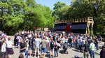 Ein Jahr nach der erfolgreichen Crowdfunding-Kampagne für einen neuen BMX-Superpark wurde im Mellowpark der Grundstein für die zukünftige Anlage gelegt.