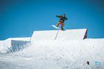 Local Max Kaffl nutzt die guten Bedingungen im Snowpark Steinplatte bestens aus. Foto: Klaus Listl - Freezing Motions