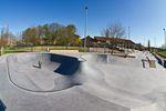 Bowl- uns Streetarea im Skatepark Karlsruhe auf einen Blick
