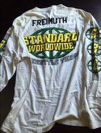 Ein Stück BMX-Geschichte ersteigern und gleichzeitig Gutes tun: Dave Freimuth verkauft auf eBay sein legendäres Standard-Jersey, um mit dem Erlös den Glenn Salyers Road 2 Recovery Fund zu unterstützen
