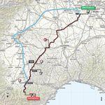 Von Abbiategrasso bei Milano geht es Richtung Südwesten durch die Po-Ebene bis in die Ligurische Alpen.