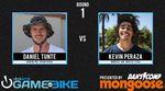 Hier kannst du dir angucken, wie sich Daniel Tünte und Moritz Nußbaumer bei der Street-Edition des Vital Game of BIKE in Kalifornien geschlagen haben.