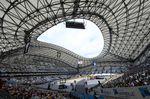 Das Marseille Stade Velodrome war eine gebührende Kulisse für das allentscheidende Zeitfahren nach einer sehr spannenden und aufregenden Tour de France. (Foto: Sirotti)