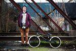 Bruno Hoffmann stellt auf der Webseite von éclat BMX sein aktuelles Rad vor
