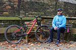 Matthias und die neueste Schöpfung aus dem Hause Bergamont - das Trailster EX 9.0