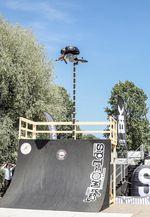 Nachdem Sikharin Supanmart bereits den Highest-Air-Contest auf dem Butcher Jam in Flensburg gewonnen hatte, holte er mit amtlichen 3,8m auch auf den BMX Worlds in Köln den Pott nach Dresden