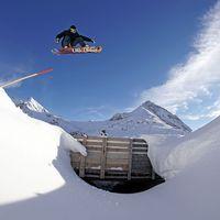 patrick rauter, roadgap, kühtai, österreich, freestyle, snowboard