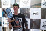 Ben Wallace gewann die Best-Trick-Wertung mit einem Flairtransfer über das Quarter-Bank-Gap