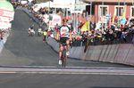 Polnac konnte sich absetzen und fuhr zum Etappensieg auf der ersten Bergankunft beim 100. Giro d