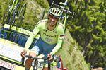 Alberto Contador gewann das Zeitfahren beim Criterium du Dauphine. Foto: Sirotti