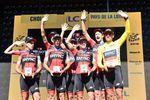Der Etappensige beförderte Greg Van Avermaet in die Führung des Gesamtklassement. Der Belgier trägt zum zweiten mal das gelbe Trikot, nachdem er 2016 drei Tage in der Gesamtwertung führte. (Foto: © ASO/Pauline Ballet)