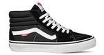 VANS Sk8 Hi Pro in schwarz-weiß