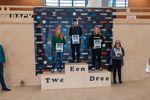 Die Gewinnerinnen der Klasse Elite Pro Women bei den German Open 2019 in der Skatehalle Oldenburg