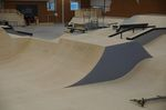 Die Jumpbox der Skatehalle Oldenburg