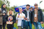 Die Gewinner der Youngster-Klasse des Woodstone-Contests 2018 im Skatepark Wendelstein