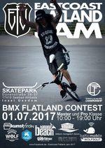Der zweite Lauf der German Flatland-BMX Championships findet am 1. Juli 2017 im Rahmen des Eastcoast Flatland Jams auf Usedom statt. Hier erfährst du mehr.