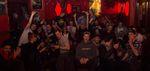 Super Stimmung auf der Ride with Friends X Cama Crew Videopremiere in Berlin