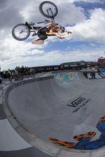 Dylan Lewis beim Vans BMX Pro Cup in Sydney