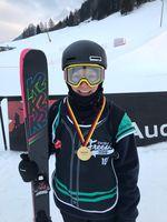 Kea Kühnel ist Deutsche Meisterin im Big Air