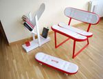 Picture - via Pinterest (furniture available through skate-home.com).