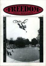 freedombmx Ausgabe mit einem CanCan Air von Lars Gförer im Kölner Jugendpark auf dem Cover aus dem Sommer 1993