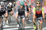 Sam Bennett (hier bei der Tour de France 2017) gewann um Haaresbreite den Münsterland Giro vor Greipel, Kittel und (Foto: Sirotti)
