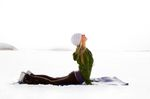 Yoga Snowboard Ski Snow