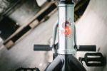 Das Gabelrohr des Sunday Bikes Excelsiors von Sunday Bikes
