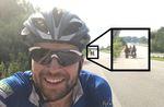 Neben Fahrradfahrern trifft man in der Ukraine auch Pferdekutschen auf der Autobahn an.