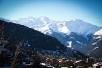 Verbier View Over the Mountains