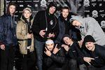 GBB X KSHZLE Crew! Oberer Reihe v. l. n. r.: Pascal Nowack, Timothy Jones, Leon Berthold, Dennis Erhardt, Graziano Lombardo; unten: Addi Kölz, XXX und Felix Donat