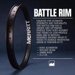 Du bist auf der Suche nach einer stabilen BMX-Felge? Dann bist du bei der Merritt Battle Rim an der richtigen Adresse. Hier erfährst du mehr.