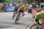 Chris Froome verteidigte erfolgreich seine Führung und ziehrt im gelben Trikot in den morgigen Ruhetag (Foto: Sirotti)