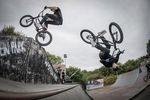 Falls bei Olympia irgendwann die Disziplin BMX-Doppelkür eingeführt wird, werden Ricky Felchner und Miguel Franzem schon bestens vorbereitet sein