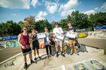Die Gewinner des Proficontests beim BMX Männle Turnier 2018 in Tuttlingen