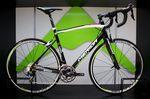 Das Alu-Ride 400 ist auch in den Lampre-Merida-Farben erhältlich.