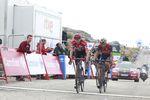 Froome konnte sich gegen Nibali durchsetzen und kam als zweiter hinter dem Etappensieger ins Ziel. (Foto: Sirotti)