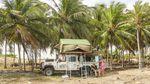 Strandcamp an der brasilianischen Küste – Credit: Graeme Bell