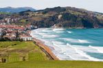 Zarautz. credit: iStock / Getty Images