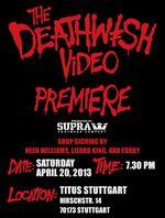 Deathwish Premiere