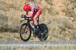 Chris Froome (Team Sky) gewinnt das Einzelzeitfahren auf der 16. Etappe und baut seine Führung in der Gesamtwertung aus. (Foto: Sirotti)
