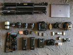 Das Fotoequipment von Nahuel Martinez