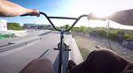 Der kunstform und Radio-Bikes-Teamfahrer Robin Kachfi hat sich eine Actionkamera umgeschnallt und damit ein paar Lines im Skatepark von Mannheim gefilmt.