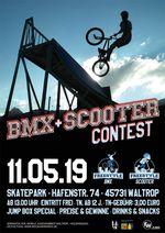 Am 11. Mai 2019 findet wieder ein BMX- und Scootercontest im Skatepark am Cliquentreff Waltrop statt. Hier erfährst du mehr.