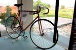 Wiliers früheres Markenzeichen: kupferfarbene Rahmen.
