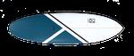 Das Kanoa Icebreaker verfügt über ein Round Tail.