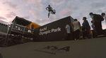 Uprail to Hard 180 Whip?! Denis Pavlov zerlegt im Namen des Hellride BMX-Shops aus Moskau kurz und schmerzlos den Skatepark im Olympiapark von Sochi.