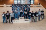 Die Gewinner der Klasse Elite Pro Men bei den German Open 2019 in der Skatehalle Oldenburg