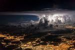 Furia. Dieses Bild wurde während der Sturmsaison bei Panama City aufgenommen. Foto: Santiago Borja